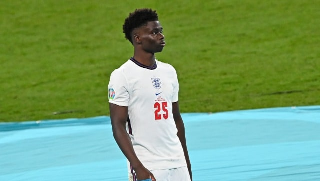 Euro 2020: England's Bukayo Saka urges social media platforms to step up efforts in fight against online racial abuse