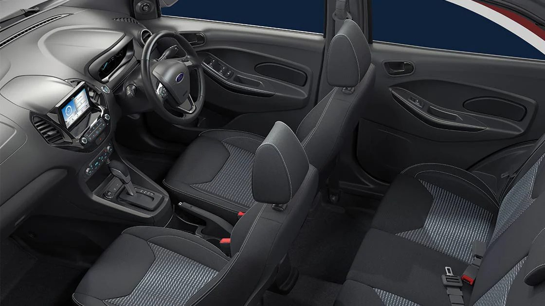 The Ford Figo now gets the option of a six-speed torque convertor automatic. Image: Ford