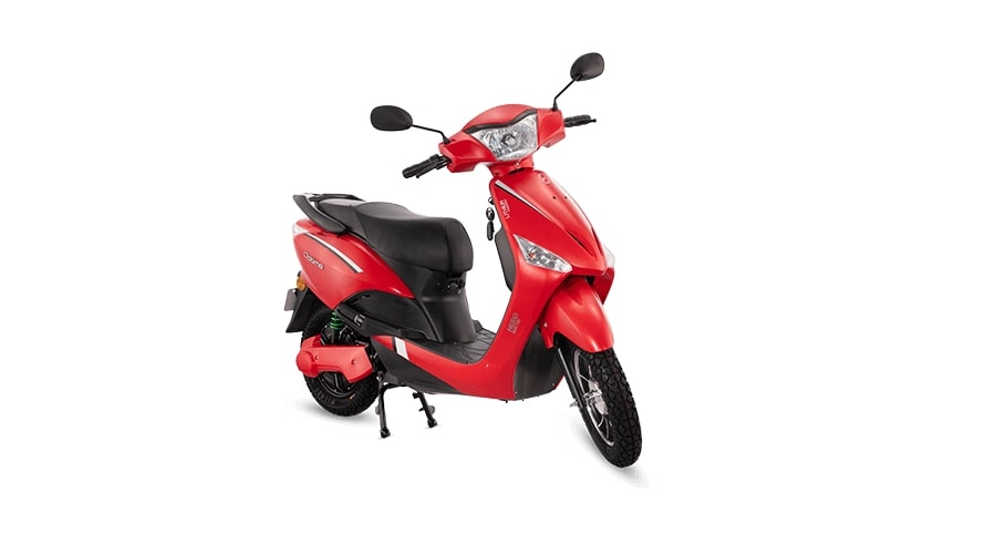In Maharashtra, the dual-battery version of the Hero Optima e-scooter is more affordable than the single-battery version. Image: Hero Electric