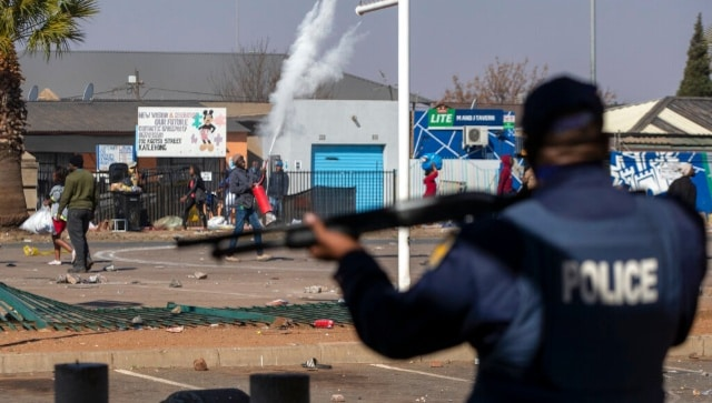 At least 10 killed in South Africa over riots triggered by jailing of former president Jacob Zuma