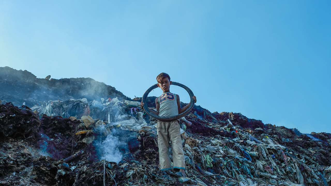 Only nine percent has been recycled, and the remainder has either been disposed of in landfills or released into the environment. Photo by Muhammad Amdad Hossain (Bangladesh)