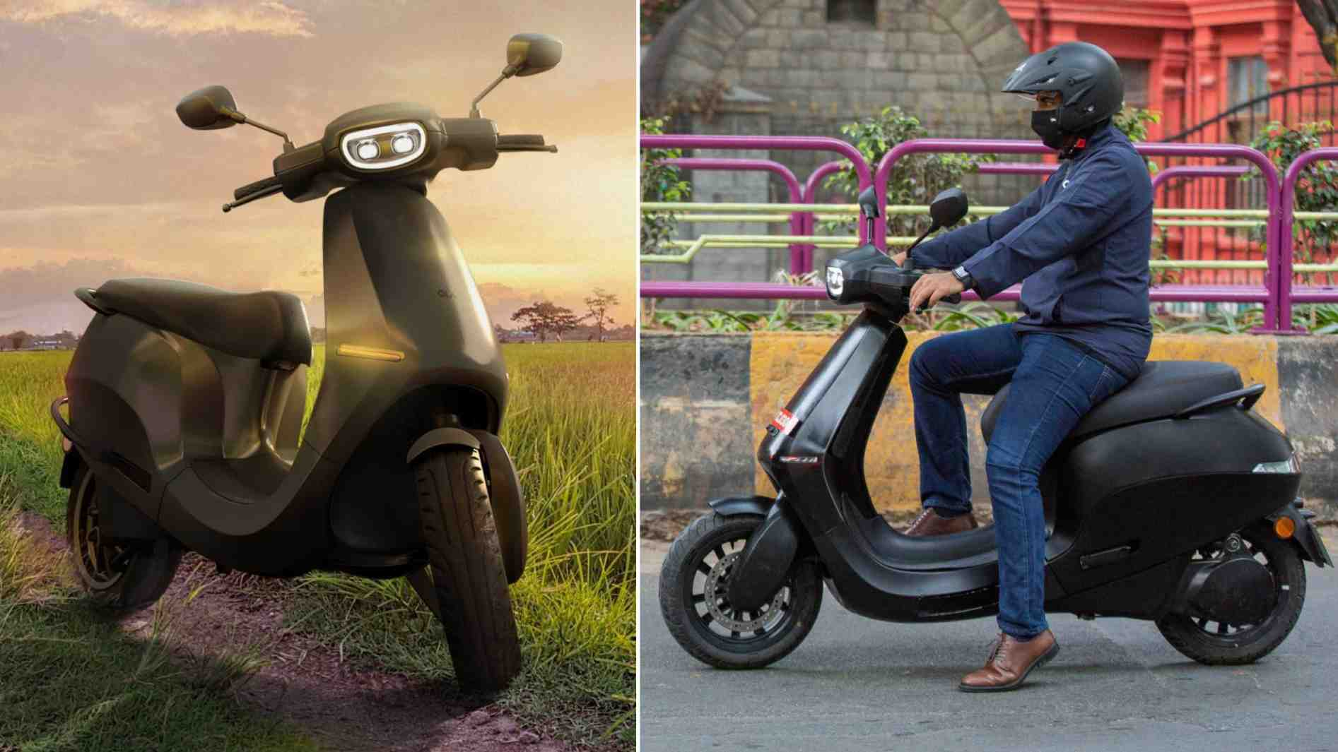 Ora electric scooters are said to have best-in-class acceleration and distance numbers. Image: Ola Electric / Tech2