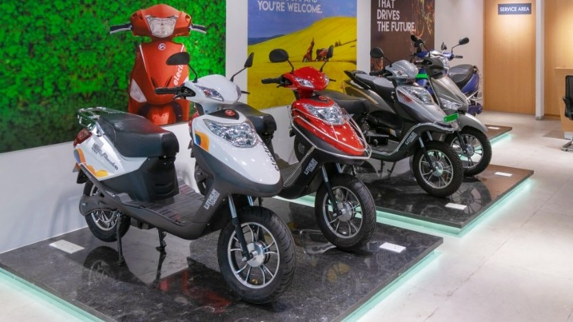Hero Electric expects low-speed scooters to now account for just 20 percent of sales. Image: Hero Electric