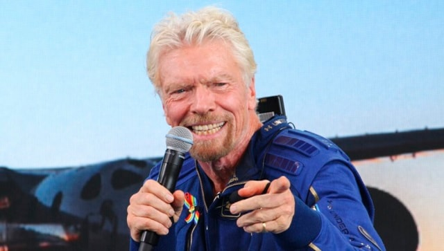 'Experience of a lifetime': Richard Branson completes space tour aboard Virgin Galactic vessel