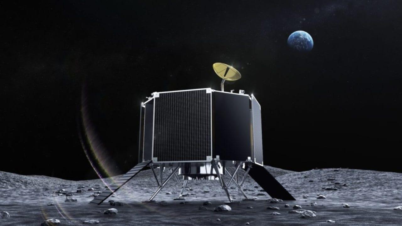 Η σειρά 2 Lunar Lander από το ispace.  Φωτογραφική πίστωση: ispace