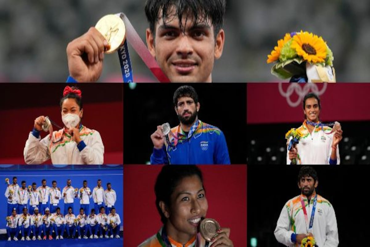 Tokyo Olympics 2020: Meet the seven medallists as India end campaign on  48th place-Sports News , Firstpost