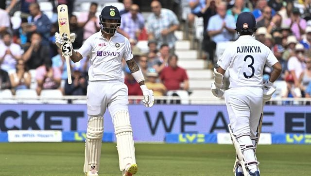 India vs England: KL Rahul shines but James Anderson leads visitors' fightback on rain-hit Day 2 - Firstcricket News, Firstpost