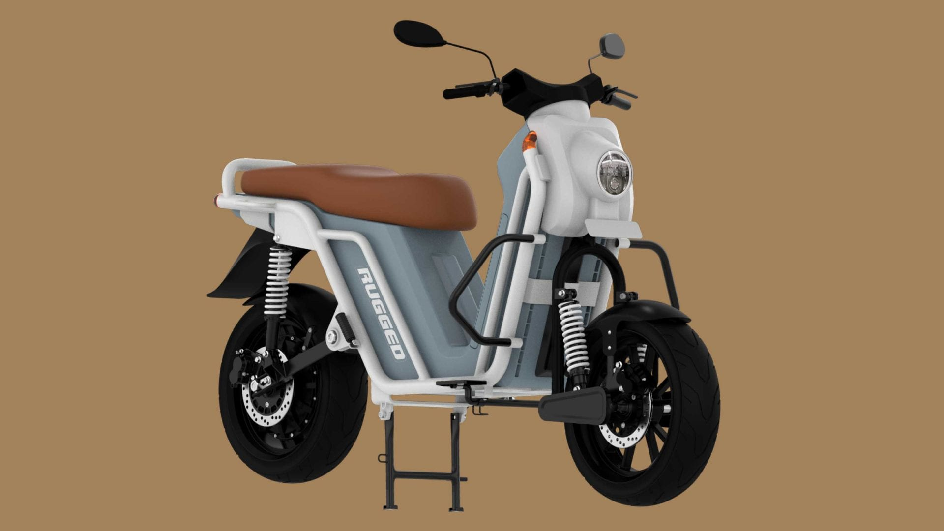 The Rugged G1 will be available in single- and dual-battery versions. Image: EBikeGo