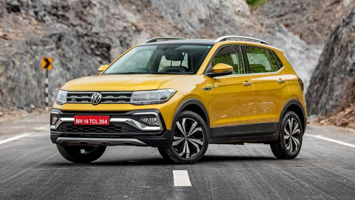 The Taigun shares its basic underpinnings and powertrains with the Skoda Kushaq. Image: Volkswagen