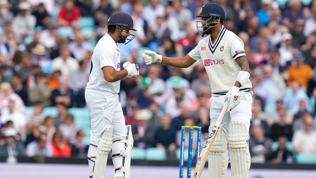 Pacers day out with both bat and ball as match hangs in balance after Day 1  of Oval Test - Photos News , Firstpost