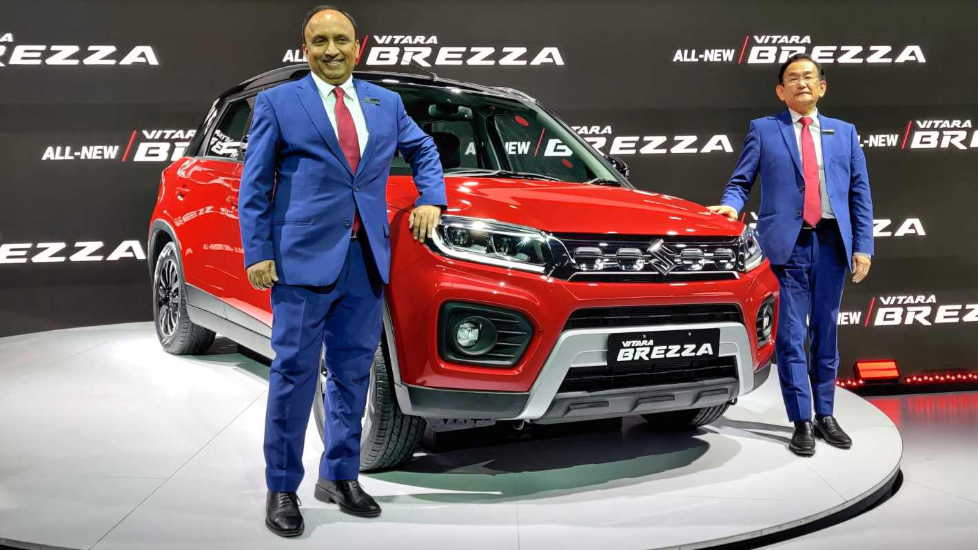 Maruti Suzuki completed the transition into a petrol-only carmaker with the launch of the Vitara Brezza facelift in 2020. Image: Tech2/Amaan Ahmed