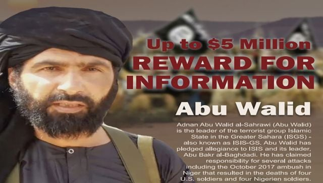 Who is Adnan Abu Walid al-Sahrawi? Why was he killed by French soldiers?