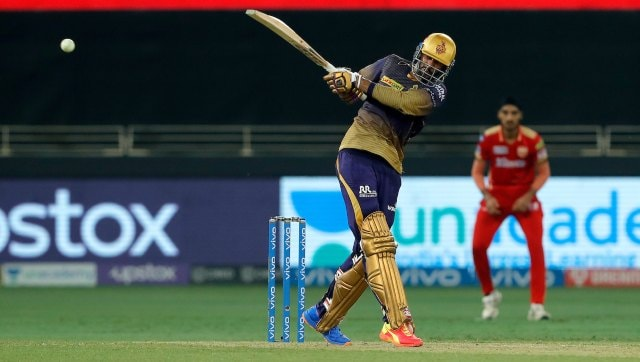 Venkatesh Iyer then played a composed and free-scoring knock of 67, which also included an impressive 72-run partnership with Rahul Tripathi, which looked like it could power KKR to a massive total. SportzPics