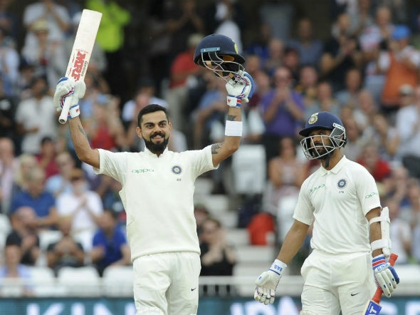 India vs England: Virat Kohli slams second ton of series as visitors sniff victory on Day 3 of Trent Bridge Test