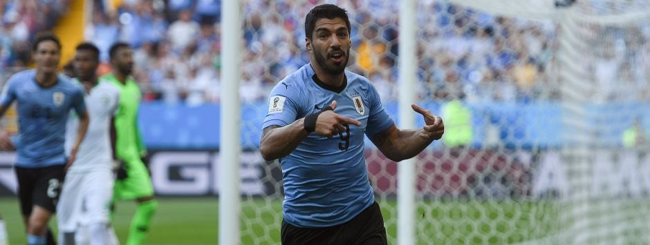 FIFA World Cup 2018: Uruguay's ageing golden generation summon old-fashioned grit to get better of Saudi Arabia