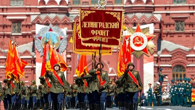 Russia holds Victory Day parade at Moscow's Red Square, tri-service contingent of Indian Armed Forces participates