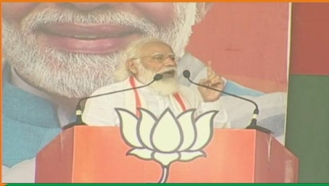 Assam polls: People in state have shown 'red card' to Congress-led Mahajoth, says Narendra Modi
