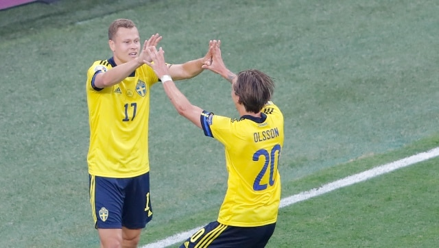 Euro 2020: Sweden's Viktor Claesson scores last-gasp winner as Poland bow out of tournament