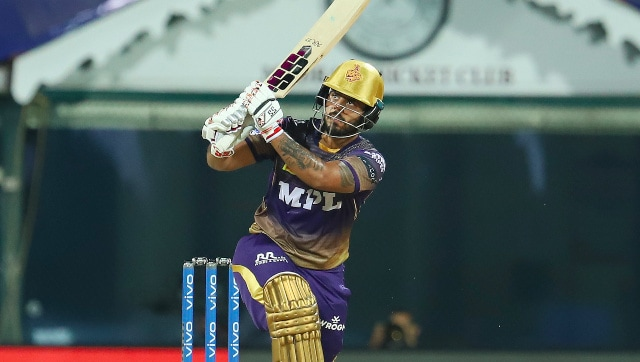 IPL 2021: Nitish Rana's 56-ball 80 helps KKR hand SRH 10-run defeat, collect first points of season