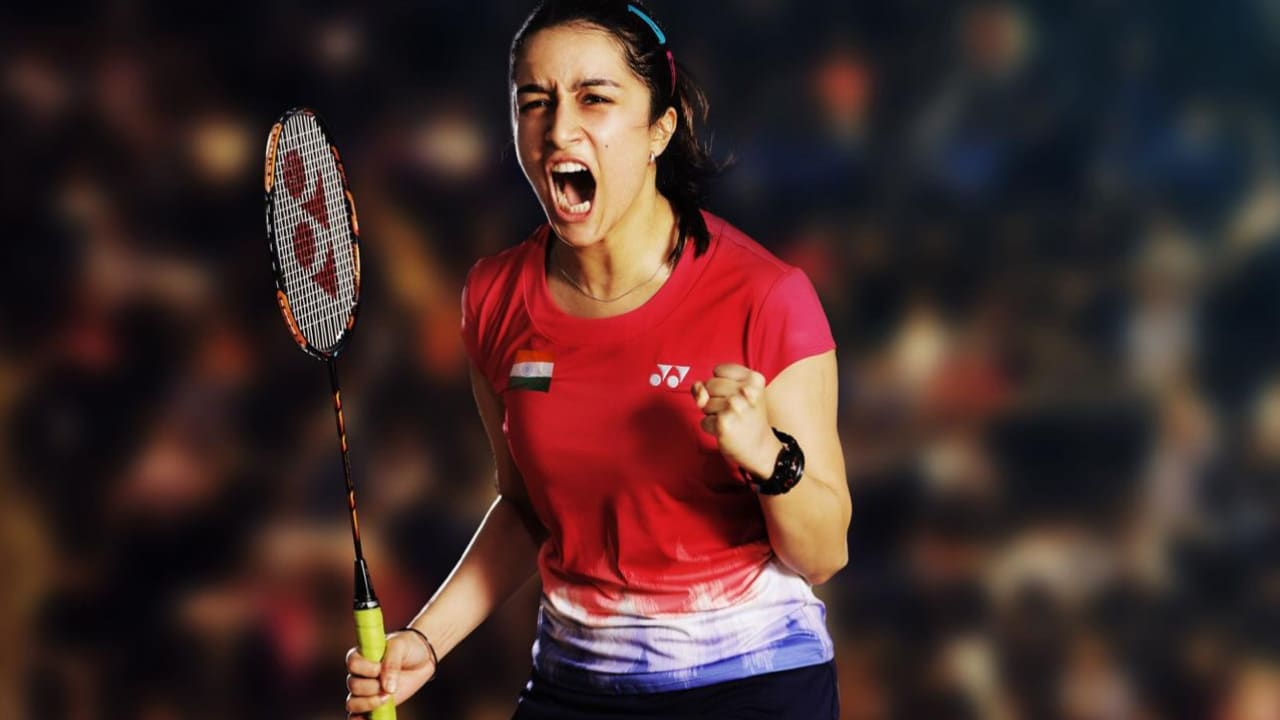 Shraddha Kapoor as Saina Nehwal