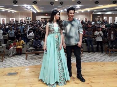 LoveYatri: Aayush Sharma, Warina Hussain visit Ahmedabad, Chandigarh, to promote upcoming Salman Khan production