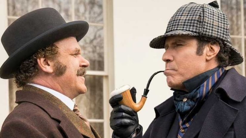 Holmes and Watson trailer: Will Ferrell, John C Reilly are hilariously goofy in this Pink Panther-esque comedy