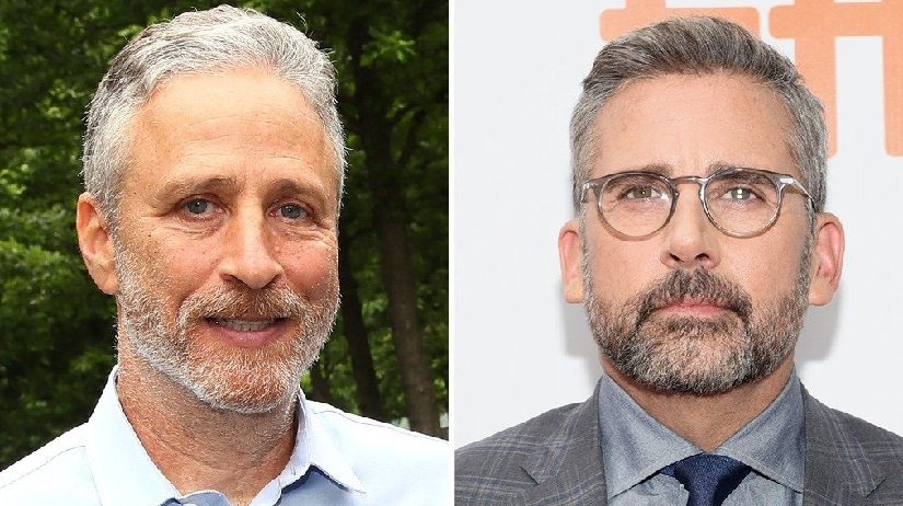 Daily Show alumni Jon Stewart, Steve Carell likely to reunite for upcoming political satire, Irresistible
