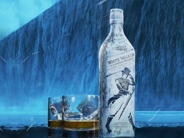Johnnie Walker unveils HBO's Game of Thrones-inspired single malt scotch whiskey White Walker