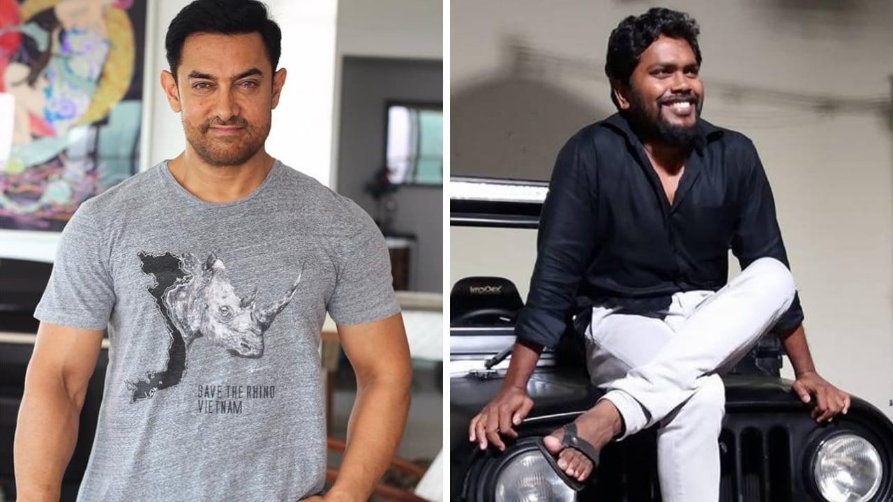 Aamir Khan (left); Pa Ranjith. Images via Facebook