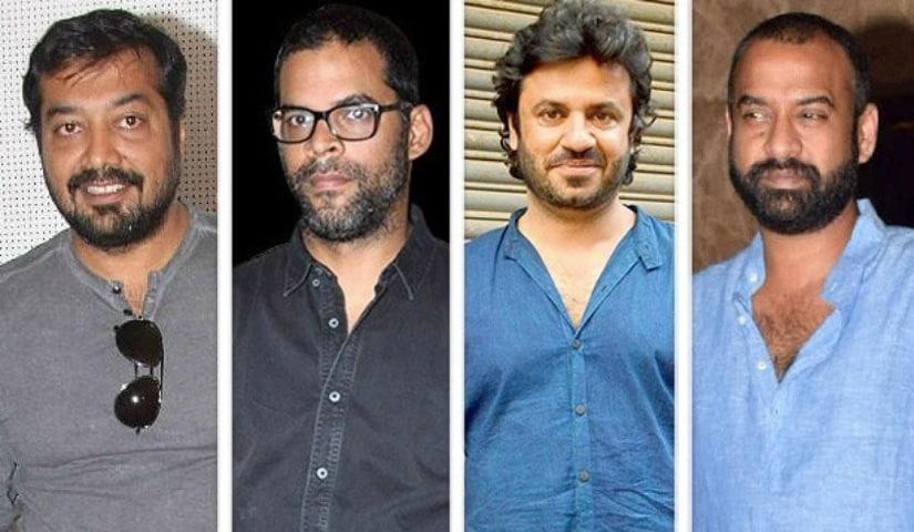 Anurag Kashyap, Vikramaditya Motwane, Vikas Bahl and Madhu Mantena. Image from Twitter