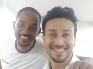 Will Smith shoots with Tiger Shroff, Ananya Panday and Tara Sutaria for Student of the Year 2