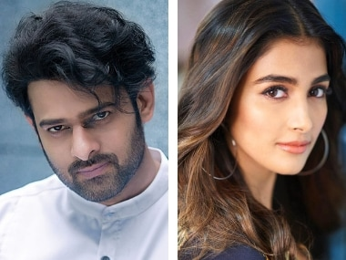 Prabhas, Pooja Hedge's romantic comedy from director Radha Krishna Kumar will reportedly be called Amour