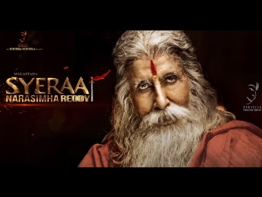 Amitabh Bachchan's look from Chiranjeevi's Sye Raa Narasimha Reddy unveiled on his 76th birthday