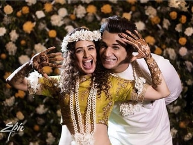 Yuvika Chaudhary, Prince Narula's pre-wedding festivities begin with mehendi, engagement ceremonies