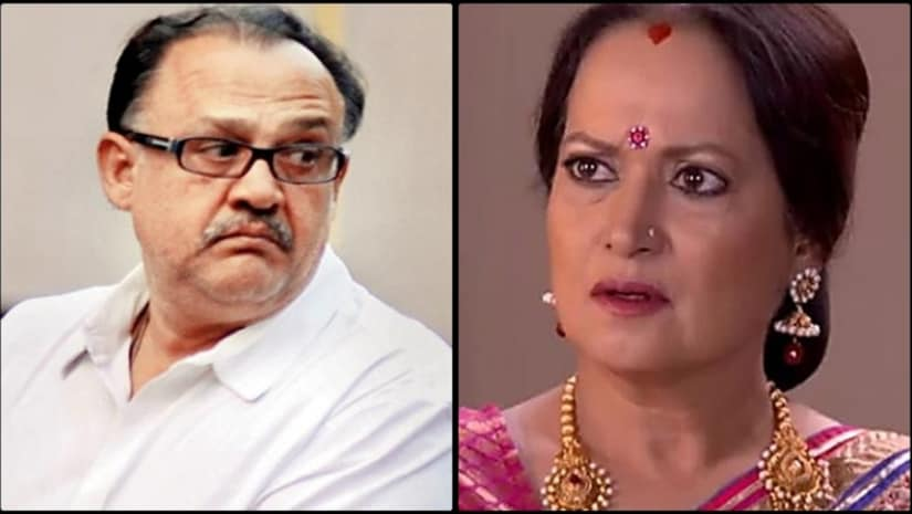 Alok Nath (left) and Himani Shivpuri. Image from Facebook