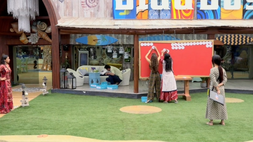 Saba and Srishty during captaincy task