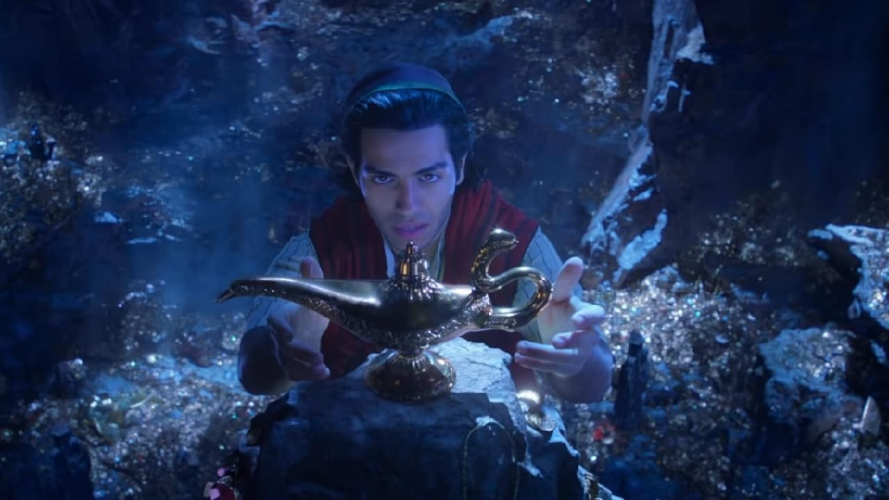 A still from Aladdin teaser. YouTube screengrab