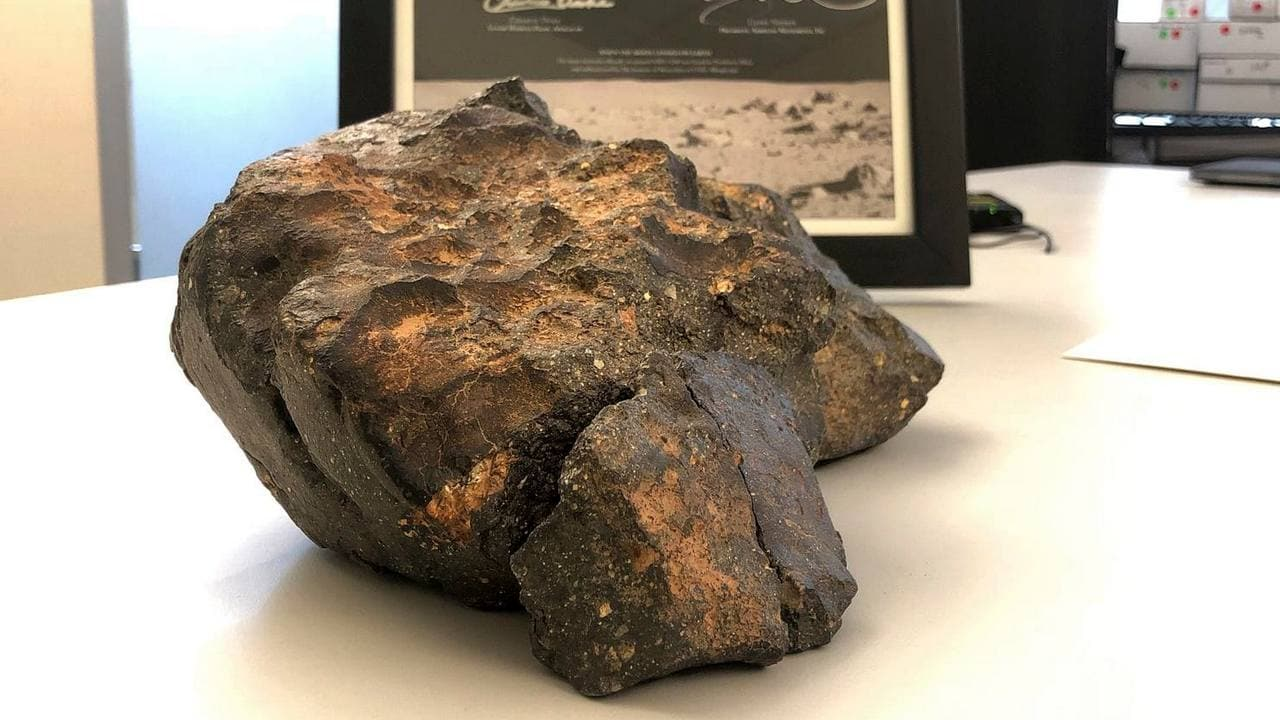 A 12-pound chunk of the moon is on sale in Boston till 18 October