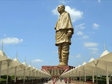 File photo of the Sardar Vallabhbhai Patel statue. Official website