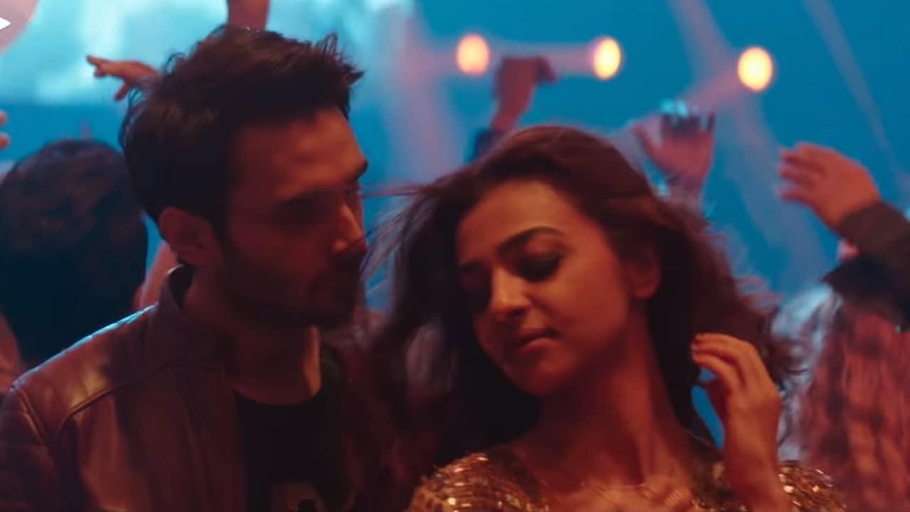 Radhika Apte and Rohan Mehra in Baazaar song La La La. YouTube screengrab