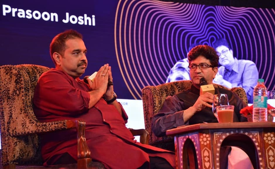 The Keynote of the music summit was a dialogue between mentor to the event Prasoon Joshi and advisor to the summit Shankar Mahadevan. Facebook/ MTV India