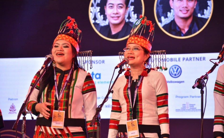 The MTV India Music Summit kicked off on 12 October with a performance by the Mizo Cardinal Choir from Shillong. Facebook/MTV India Music Summit
