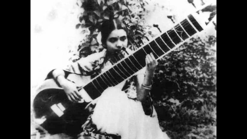 Annapurna Devi. Image courtesy Shelly Mazumdar/Roli Books