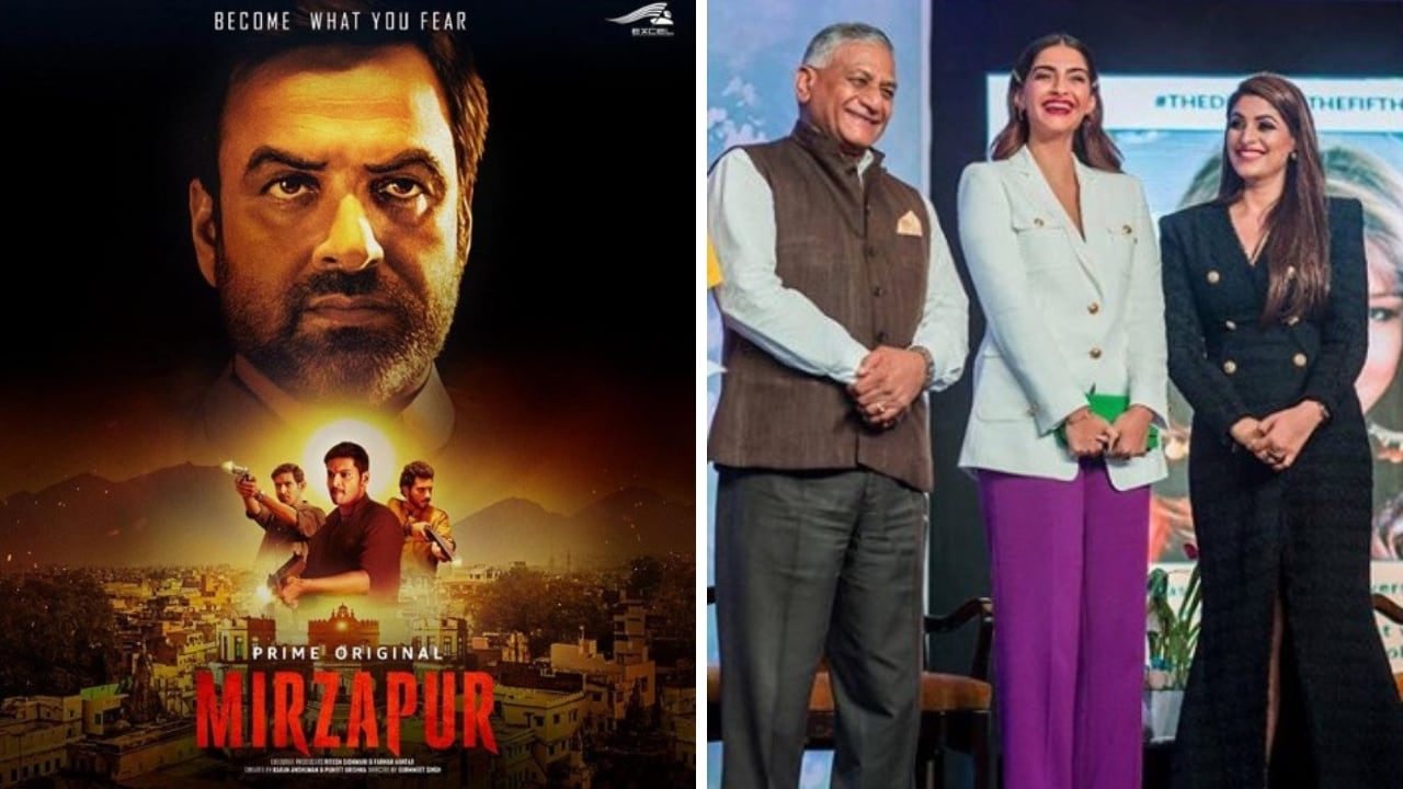 New posters of Mirzapur