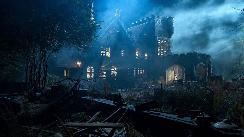 Still from The Haunting of Hill House. Image courtesy Netflix