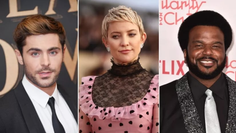 Zac Efron, Kate Hudson and Craig Ferguson may be seen in upcoming Blood Moon. Image from Facebook
