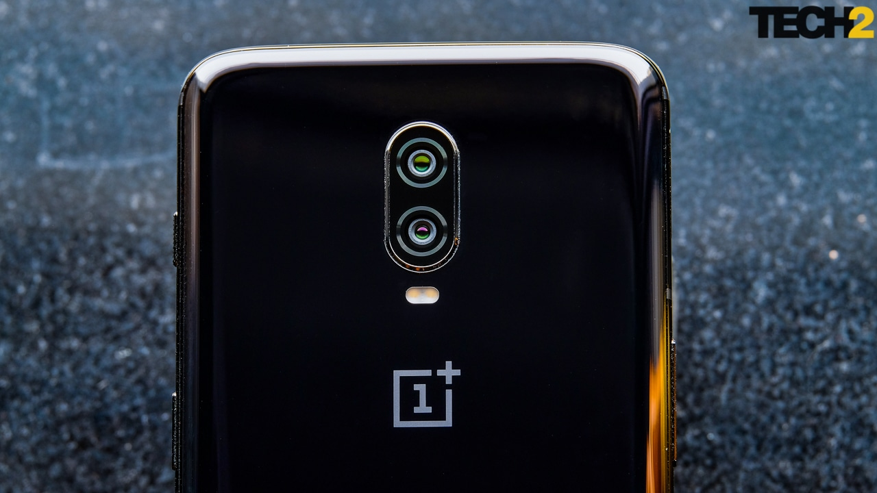 The dual camera on the OnePlus 6T is exactly the same as the one on the 6. Image: Tech2/Anirudh Regidi