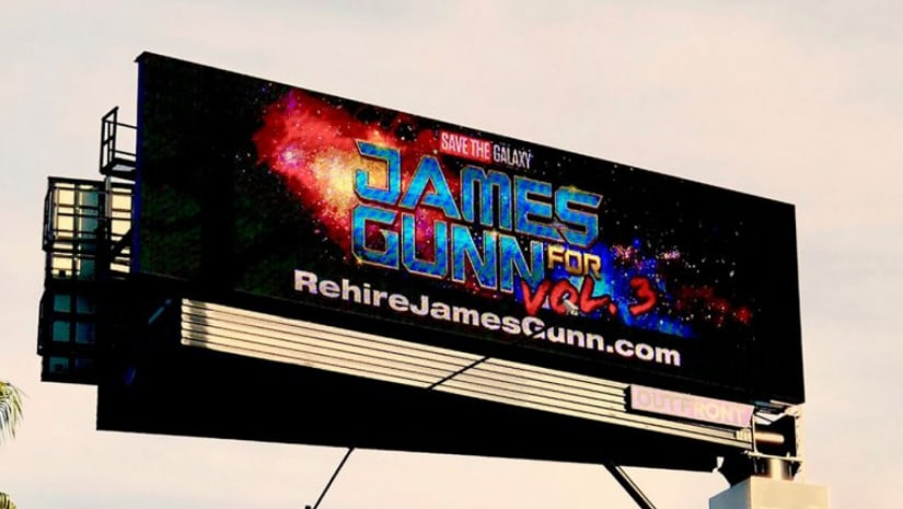 Digital billboard a few miles away from Disneyland at Anaheim. Image from Facebook