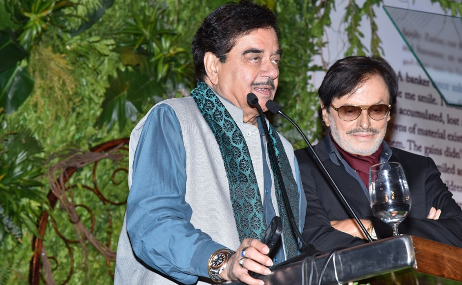 Celebrities who graced the occasion were actors Shatrughan Sinha and Hema Malini