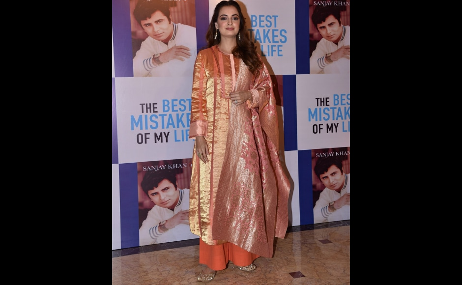 Actor Dia Mirza, also a close friend of the family, was the host for the evening and narrated wonderful anecdotes from the life of the legendary actor